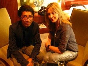 Harper Bazaar Thailand stylist with Zadig & Voltaire Creative Director Cecilia Bonstrom