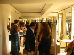 The Fash Pack at the Zadig & Voltaire Press Day - the showroom at Park Hyatt Vendome Paris